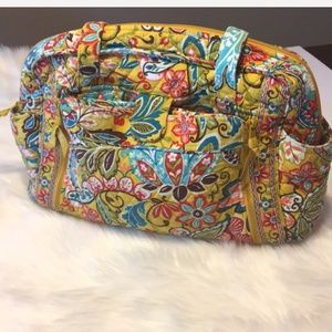 Vera Bradley Yellow Floral Diaper Bag